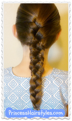 Princess hairstyles, Cute micro braid and french braid tutorial
