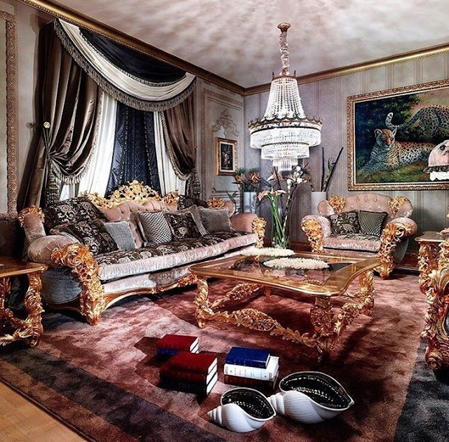 Luxury Classic Living Room
