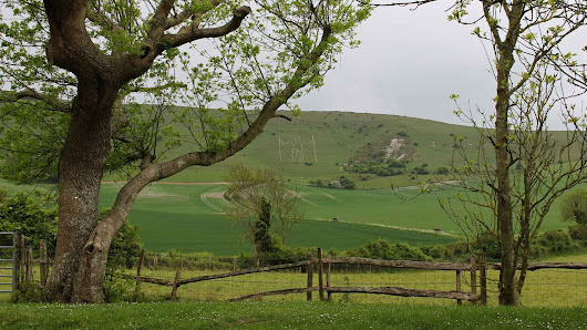 Sussex: The Long Man and the White Horse
