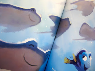 finding dory three little words book