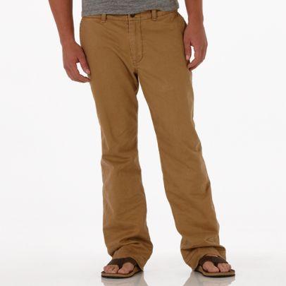 Men Fashion Dresses: Khaki Color Relaxed Pant - American ...