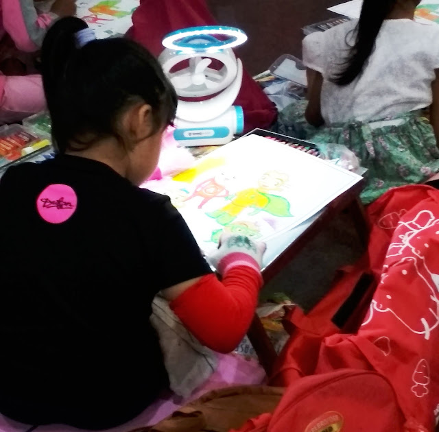Super Kids Coloring Competition dan Seminar Produk K-Vit C Plus Teavago & K-Kids Omega