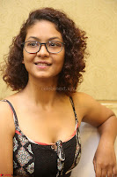 Actress Aditi Myakal Looks gorgeous in Sleeveless Deep Neck Top at Ami Tumi success meet ~  Exclusive 044.JPG