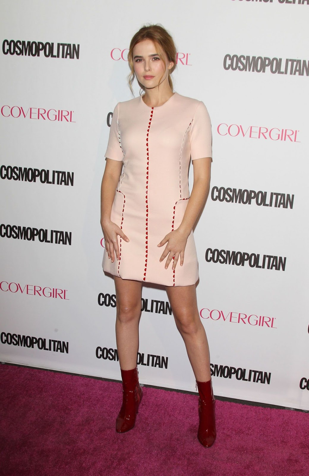 Everybody Wants Some actress Zoey Deutch at the Cosmopolitan's 50th Birthday Celebration
