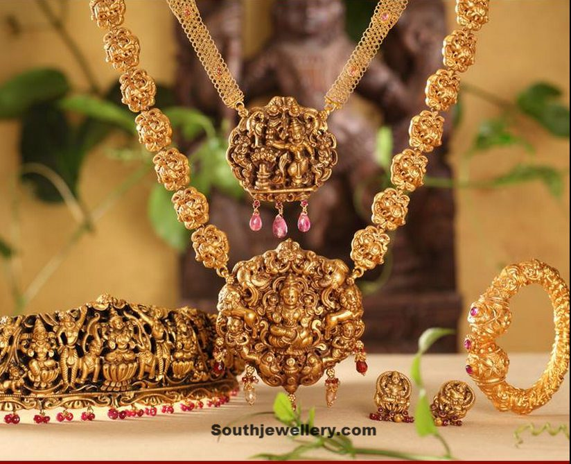 Ethnic Jewellery's of India: Temple Jewelry