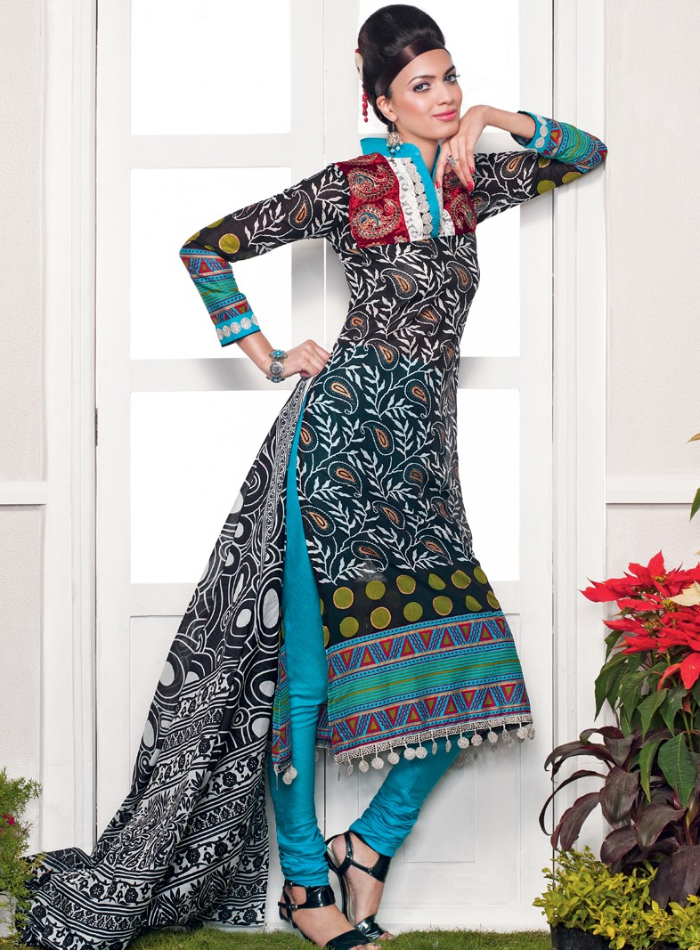 Gul Ahmed Lawn 2012-13 Collection