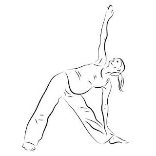 Йога для похудения в картинках