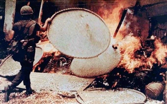 La masacre de MY LAI no fue una aberración, estuvo perfectamente en línea con la política del ejército de estados unidos en Vietnam