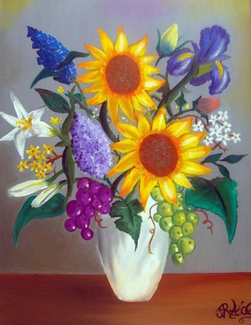 Bodegones de flores