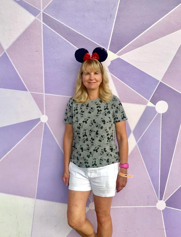 Disney's Purple Wall