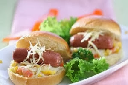 Resep Memasak Mini Sandwich Ragout Sayur Sosis untuk Anak