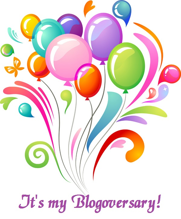 4-Year Blogoversary! Celebration and Giveaway