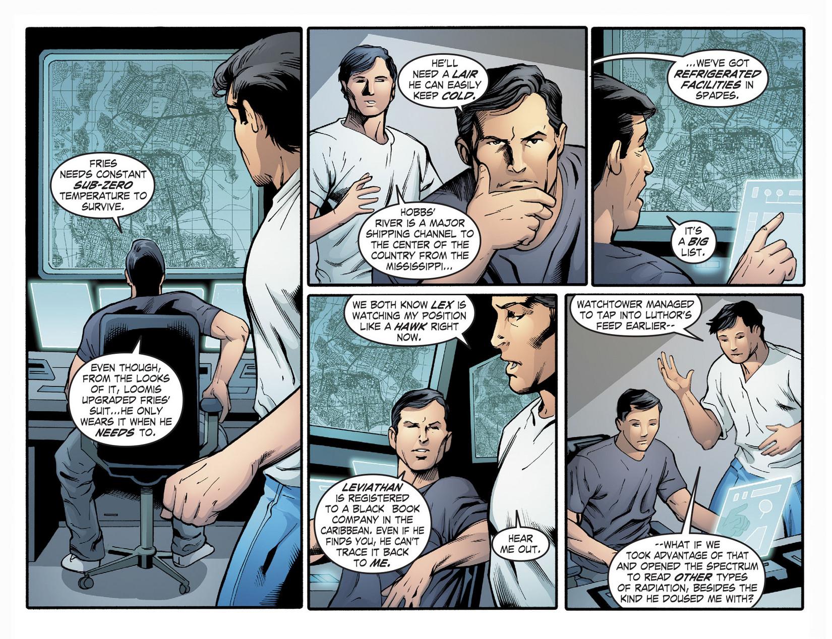 Read online Smallville: Season 11 comic -  Issue #22 - 13