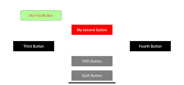 iOS Swift create button programmatically using Auto Layout Visual Format Language