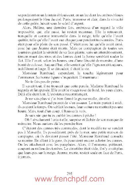 Une page d'amour en pdf gratuit d'Emile Zola
