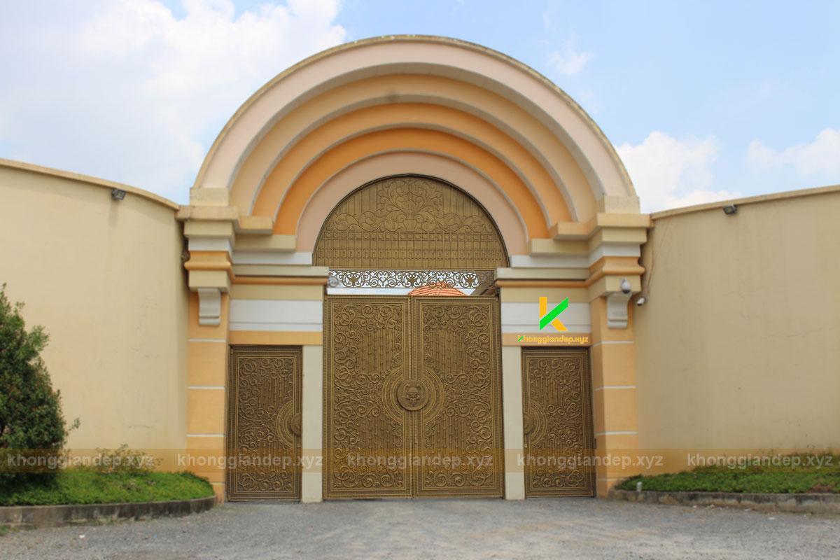 cổng đẹp Long An