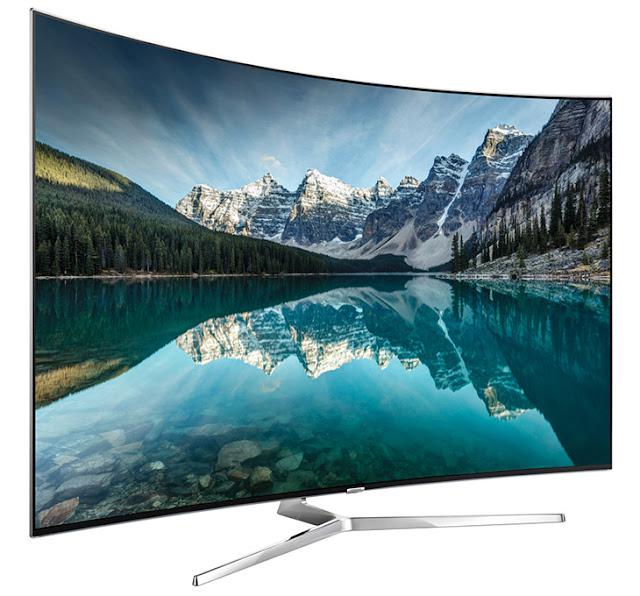 So sánh TV màn hình phẳng với TV màn hình cong