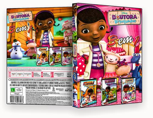 DVD – Doutora Binquedo 3 Em 1 – ISO