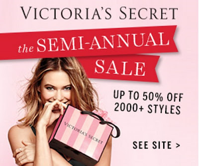 Victoria's Secret Semi-Annual Sale + Free Shipping Promo Code