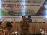 Rakor Dewan Ketahanan Pangan Makassar, ini paparan Abdul Rahman Bando