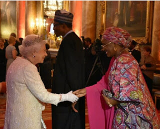 Pres. Buhari allegedly refuse handshake from Queen Elizabeth ll