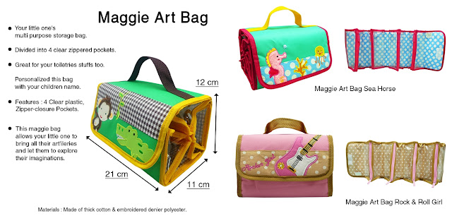 Maggie Art Bag Description