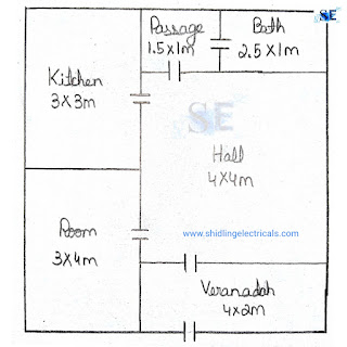 Estimating And Costing Of Materials Required For House Wiring Or Residential Plan