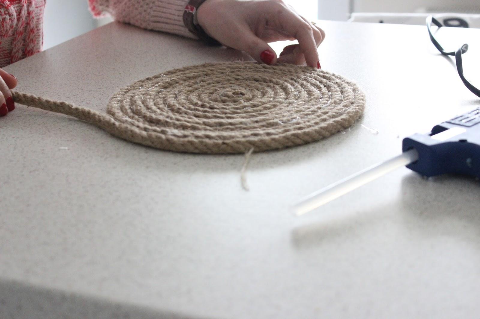 Halat İpten Kolay Sepet Yapımı