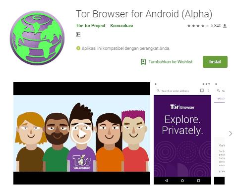 TOR Browser dan Penggunaannya Yang Perlu Anda Ketahui