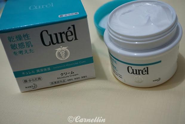 Earth. Curel Intensive Moisture Cream