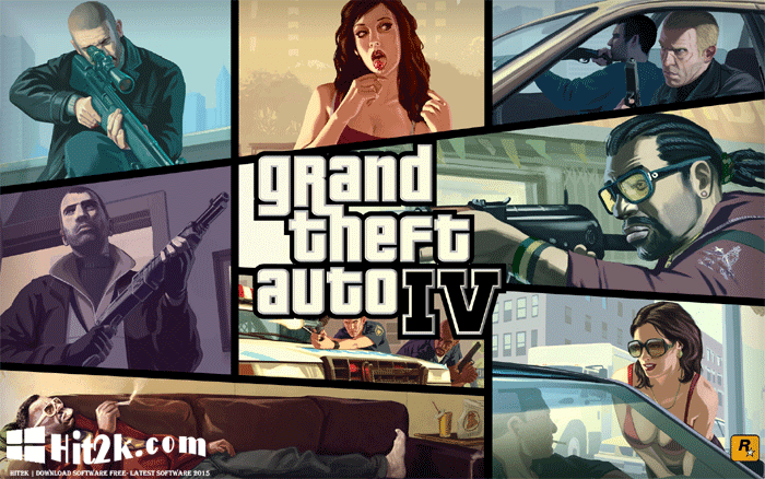 Grand Theft Auto IV Complete Free Download Game Full Version