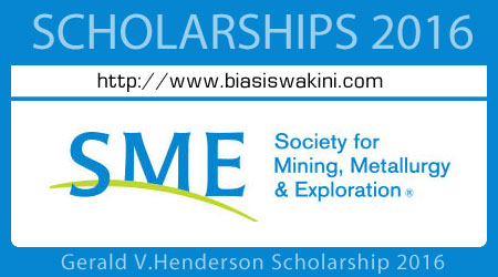 Gerald V.Henderson Scholarship 2016
