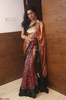 Udaya Bhanu lookssizzling in a Saree Choli at Gautam Nanda music launchi ~ Exclusive Celebrities Galleries 097.JPG