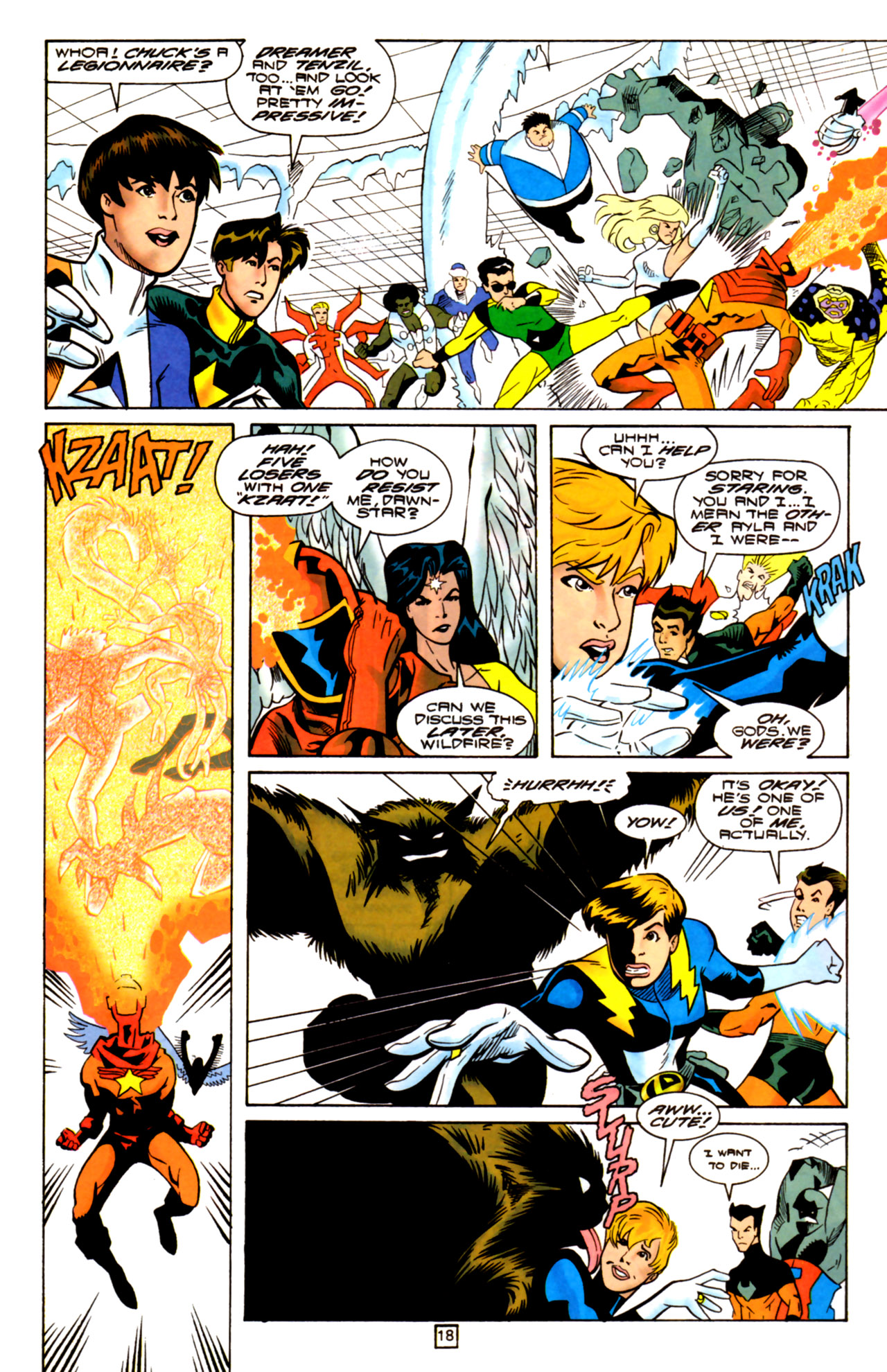 Legion of Super-Heroes (1989) 105 Page 16