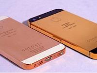 iPhone 5 Berlapis Emas 24 Karat