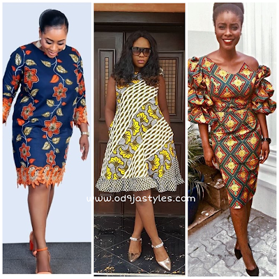 Super Stunning and Unique Ankara Short Gowns for Lovely Ladies #2