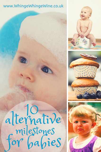 Ten alternative and funny milestone cards for babies - send to your pregnant and new mum friends