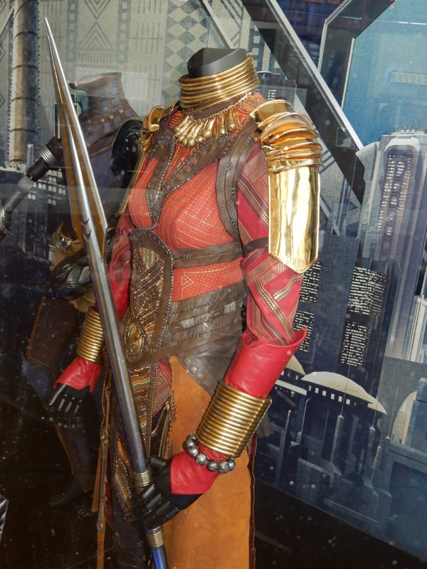 Black Panther Okoye movie costume