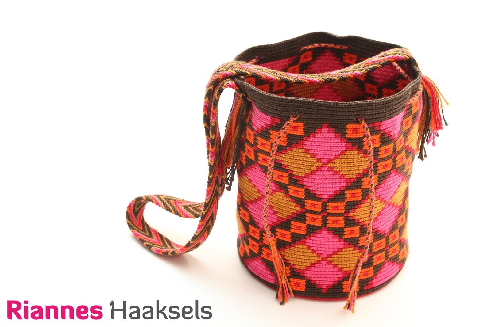 Rianneshaaksels Nieuw Wayuu Mochila Haakpakket