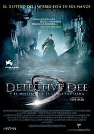pelicula Detective Dee y el misterio de la llama fantasma