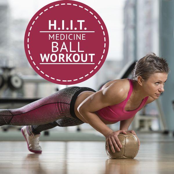 H.I.I.T Medicine Ball Workout