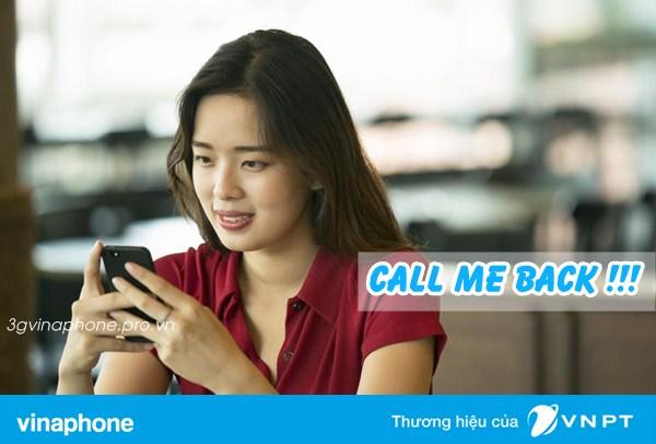 Call Me Back - Dịch vụ yêu cầu gọi lại của Vinaphone