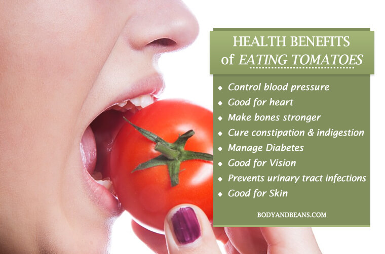 Health Tips: benefits of tomatoes