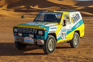 Nissan Patrol Paris-Dakar 1987 #211 Front Side