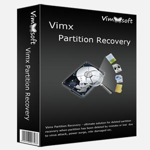 Vimx Partición Programa para Recuperar Particiones Dañadas