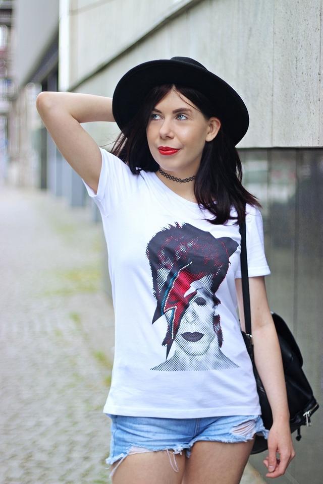 koszulka damska David Bowie