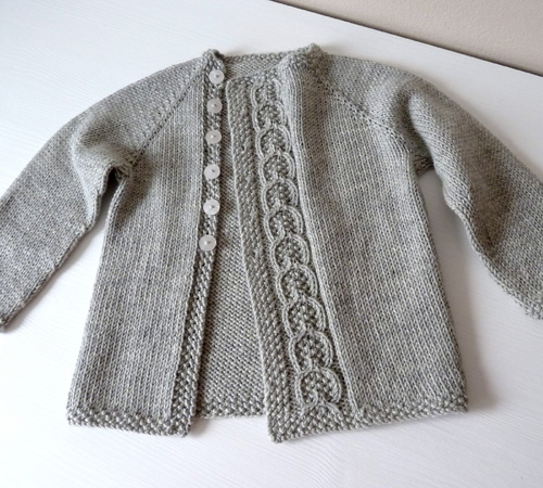 Olive You Baby Cardigan - Free Pattern