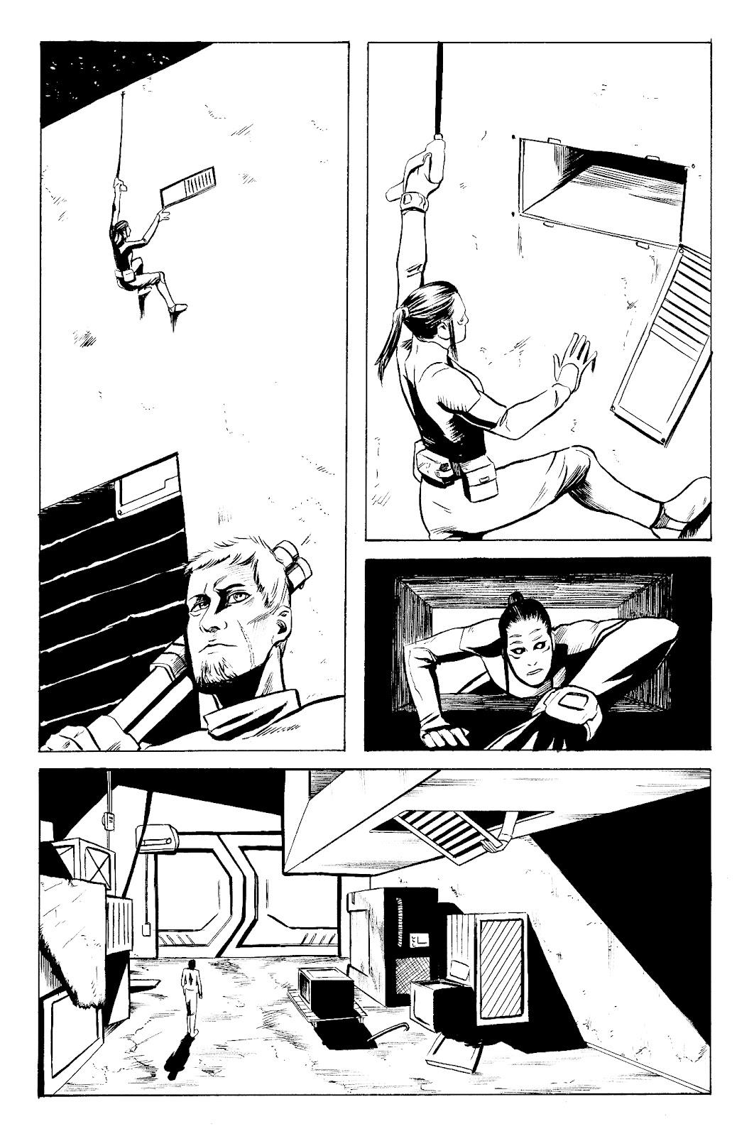 The Comic Art of Jorge Santiago Jr.: May 2012