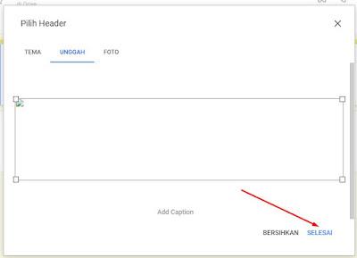 cara membuat header google form