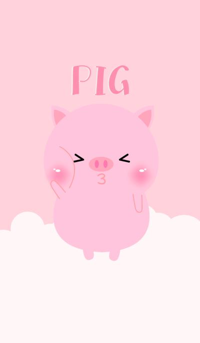 Pretty Pink Pig Theme